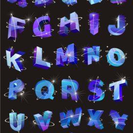 Векторный алфавит: Космос