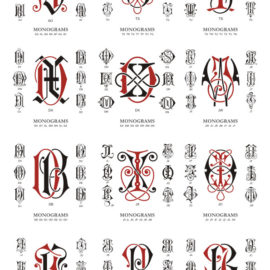 Monograms vector free download: Collection # 03