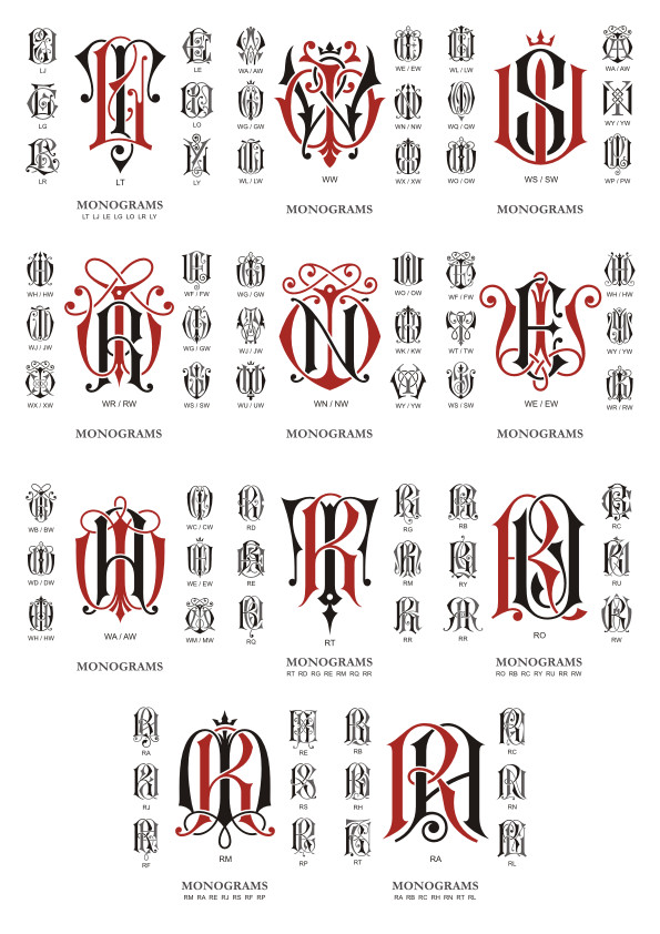 free monogram, monogram vector, download monogram