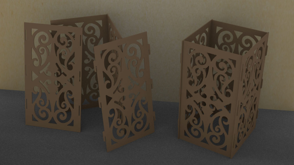 boxes for laser cutting, free download, box vector
