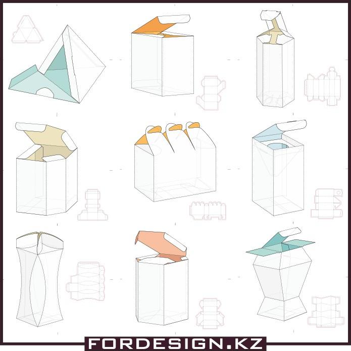 схема коробочки, коробочки в веткоре, коробочки из картона своими руками, скачать схемы коробочек