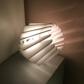 Лампа «Бриллиант» макет для резки фанеры или акрила