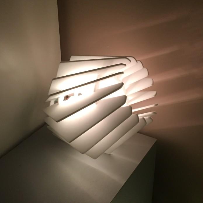 чертеж настольной лампы, лампа бриллиант, макет лампы, лампа из фанеры, скачать бесплатно, векторные изображения