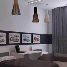 Векторный макет потолочной лампы «Нирвана»