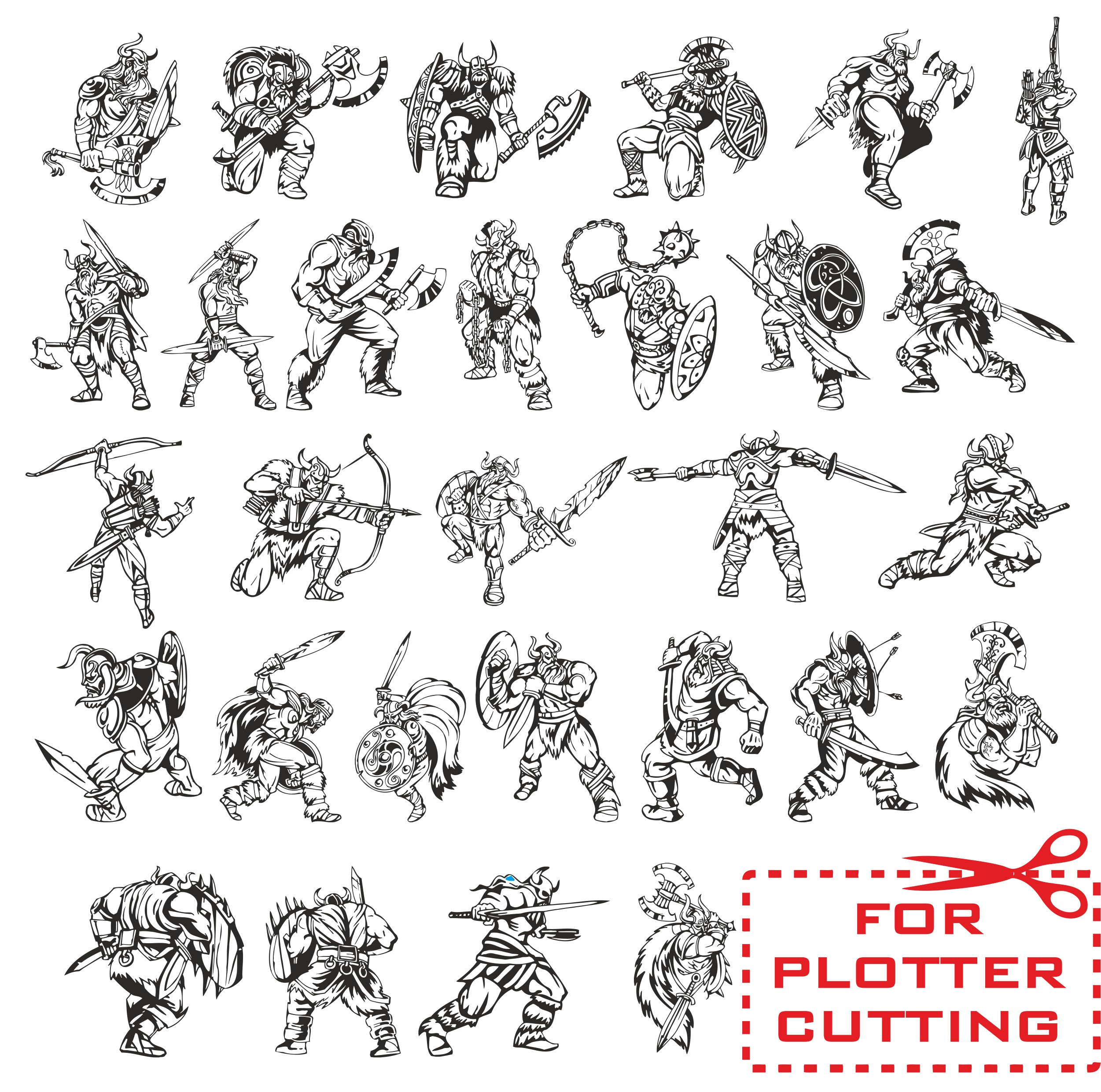 Vector vikings, viking vector, warrior vector, free download, vector images, viking clipart
