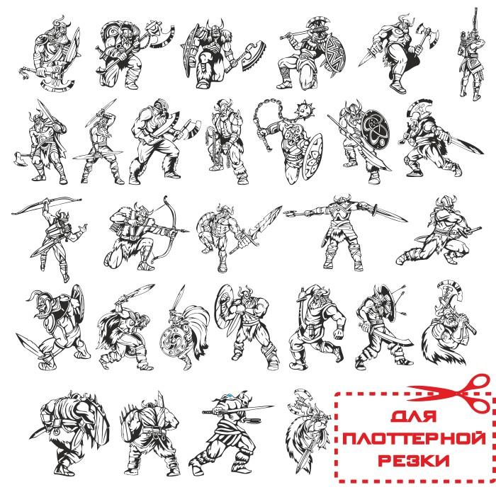 векторные викинги, викинг вектор, воин вектор, скачать бесплатно, векторные изображения