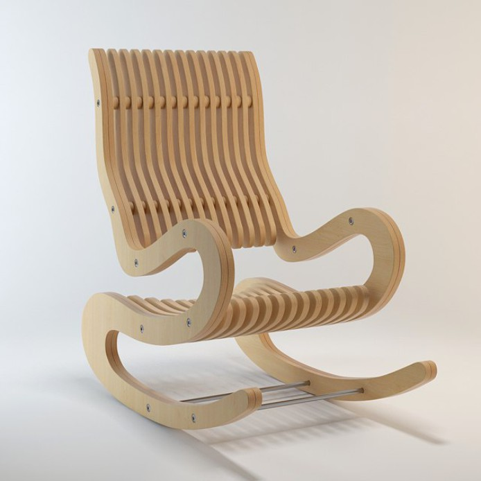 Кресло качалка чертеж, кресло качалка своими руками