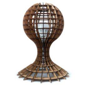 Макет настольной лампы — «Пешка»