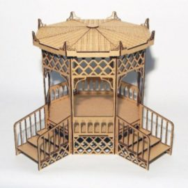Pergola for dolls in Japanese style