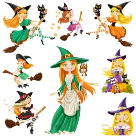 Beautiful Witches for Halloween