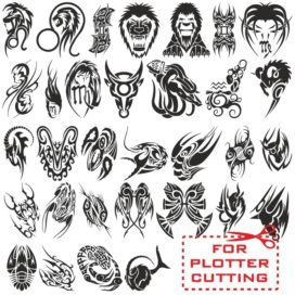 Great collection of zodiac signs – tattoos
