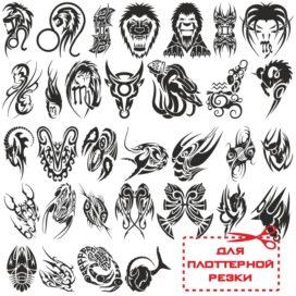 Большой сборник знаков зодиака — татуировки