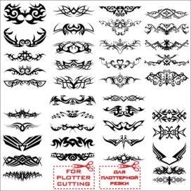 Эскизы для татуировок: Узоры № 02