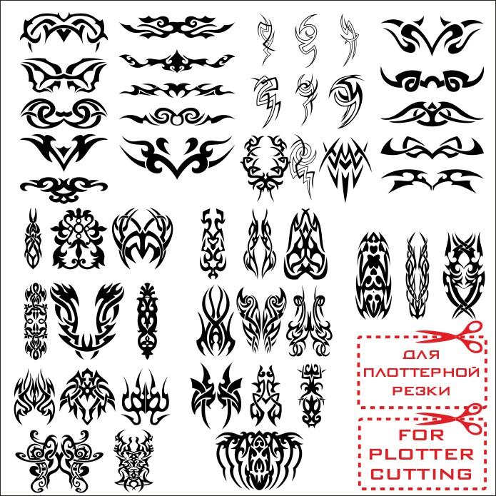 Эскизы татуировок узоры