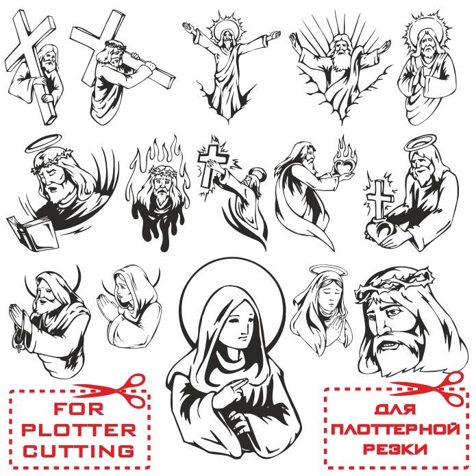 Религиозные картинки для плоттерной резки скачать бесплатно