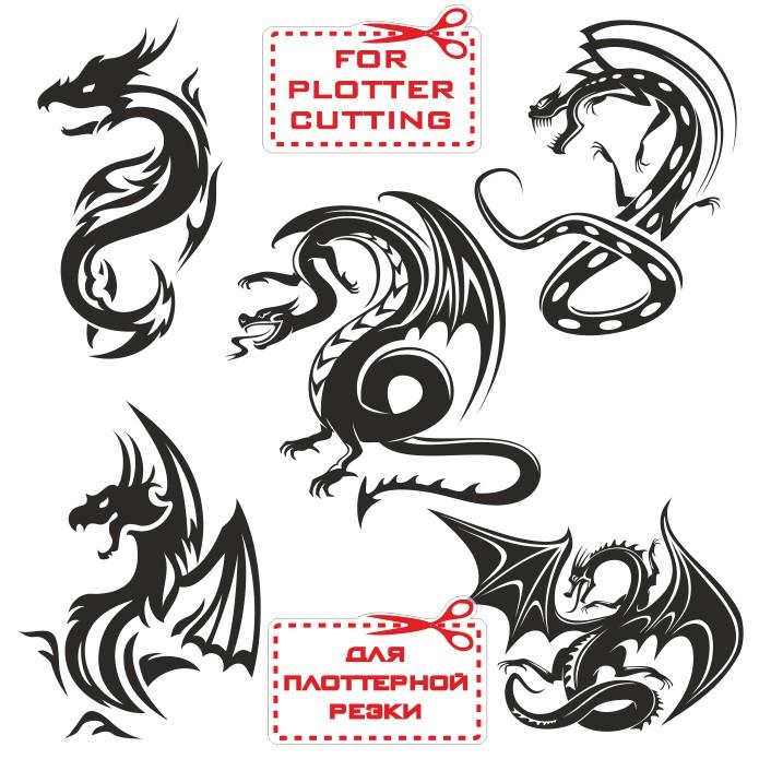 Векторные драконы скачать бесплатно