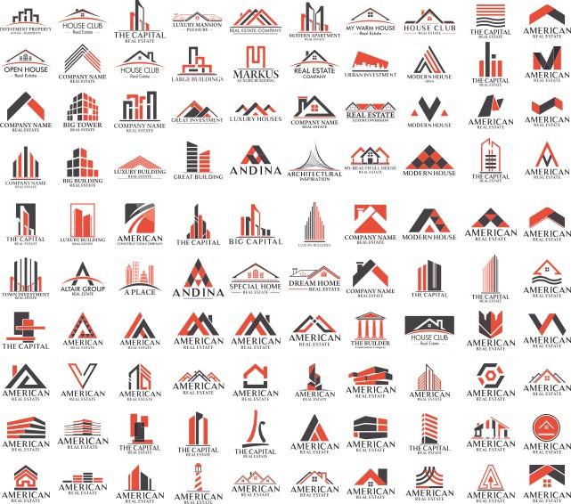 строительные логотипы, логотипы строительных фирм