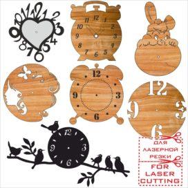 Чертежи деревянных часов и циферблатов: Сборник № 2