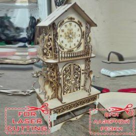 Классические часы с выдвижным ящичком