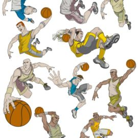 Sports Basketball vector for free download!