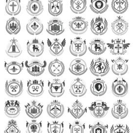 Heraldic logo new collection # 02 download free
