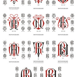 Download free monogram: Compilation # 06 out of 77 of vector monograms