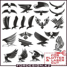 Eagle vector: Vector eagles collection # 01 download free