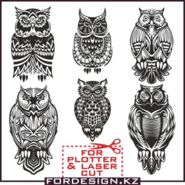 Owl vector: Vector clip art owls free download!