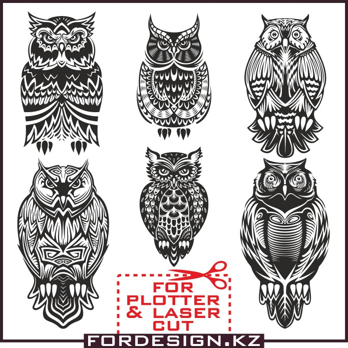 Owl vector, bird vector, vector tattoo, vector for plotter, vector clip art owl, plotter cut, Owl tattoo sketch