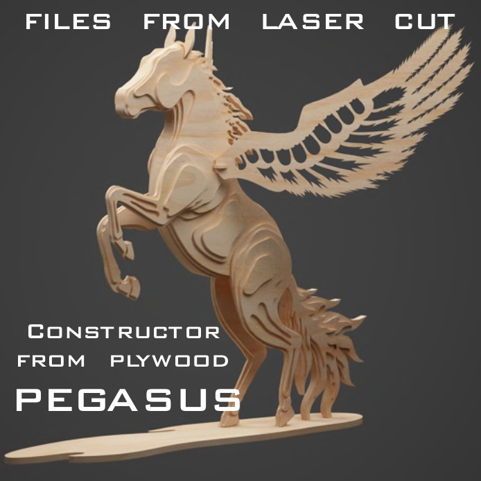 Laser cut models dxf, laser cut model, 3d constructor plywood