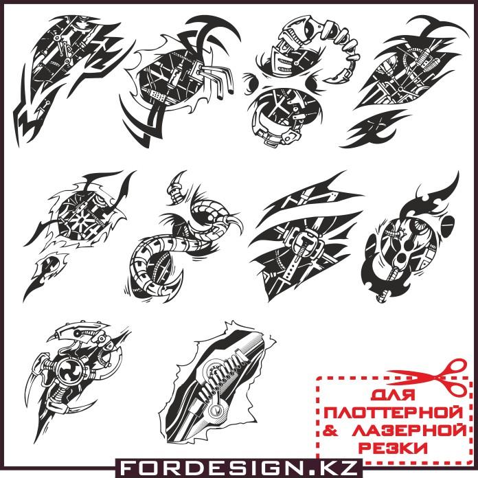 Векторные татуировки, т ату вектор, эскизы татуировок, татуировки на руку варианты, варианты тату