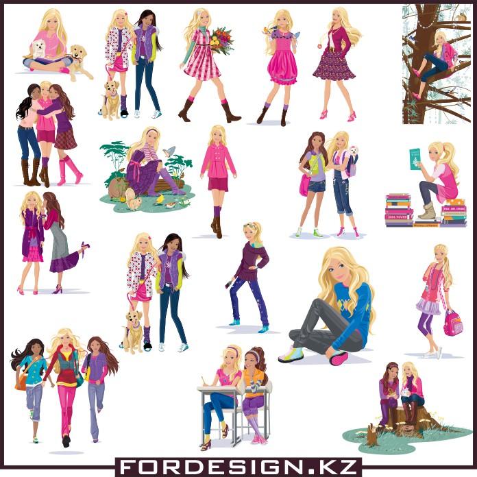 Barbie vector