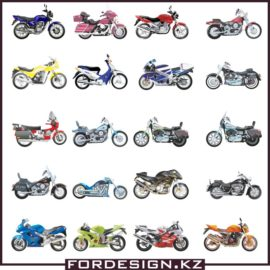 Motorcycle vector: Big collection of vector motorcycles free download