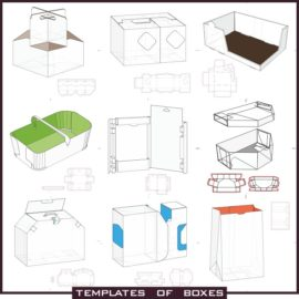 Box of paper templates download free.