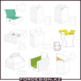 Boxes of paper templates free download