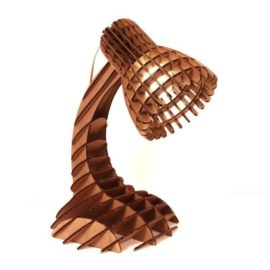 Table lamp in parametric style