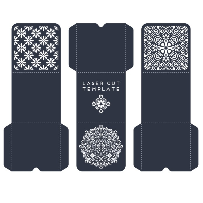 Designer envelopes, envelopes for envelopes, envelopes for laser cutting download, vector images