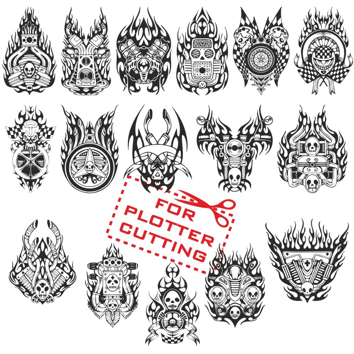 Stickers for moto, vector stickers, free download, stickers for motorcycle stickers, vector images