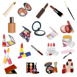 Collection of excellent vector cosmetics