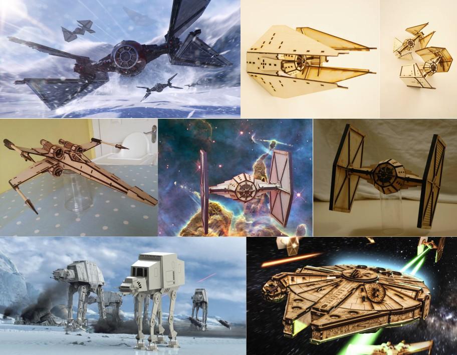 Модели Звездные войны