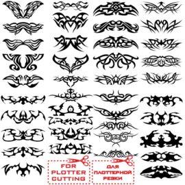 Эскизы для татуировок: Узоры № 01