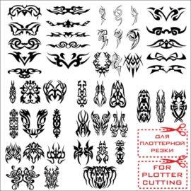 Эскизы для татуировок: Узоры № 03