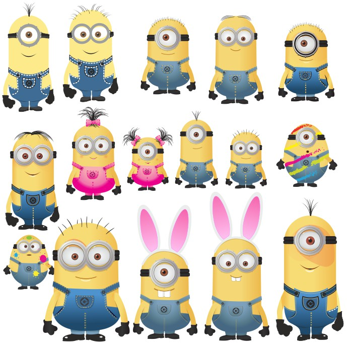 Minions vector images: download free pictures of minions