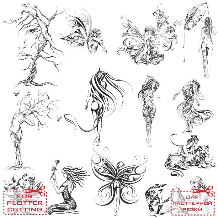 Татуировки эскизы женщин